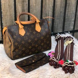 ✅FREE Lv wallet ✅Louis Vuitton Speedy 25 monogram